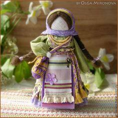 Народные куклы ручной работы. Ярмарка Мастеров - ручная работа. Купить Успешница-Удачница. Handmade. Разноцветный, удача, кукла в подарок