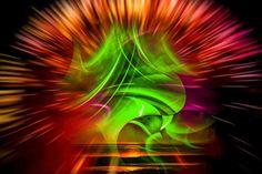 'Nordlicht' von Walter Zettl bei artflakes.com als Poster oder Kunstdruck $22.18
