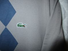 Mens Lacoste Polo Shirt / Size-8= 2XL / Very Good Condition / P2P=26.