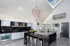 The most fantastic kitchen with double ovens, fridges and storage..perfect for the home chef.