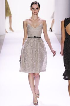 Monique Lhuillier Spring 2007 Ready-to-Wear Fashion Show - Solange Wilvert
