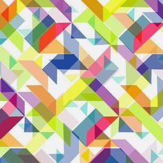 Moda y decoración comparten tendencia geométrica