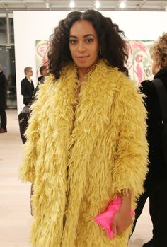 soley-solange: 4/24/15-Solange Knowles attends the Max Mara, presenting sponsor's, celebration of the opening of The Whitney Museum Of American Art in NYC