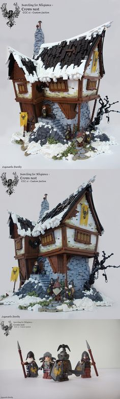 Crow's Nest custom Lego model