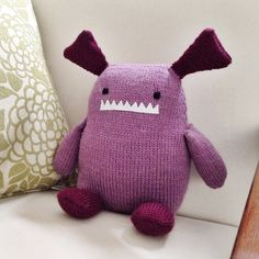 Monster - looks like an upcycled sweater