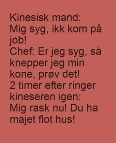 Hyggestedet.dk - Danmarks sjoveste hjemmeside. Funny Qoutes, Mind Blown, Woman Quotes, Proverbs, Wise Words, I Laughed, Haha, Badminton, Sayings