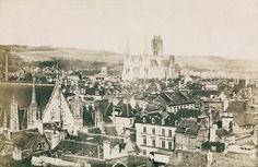 Hippolyte Bayard - Church of St. Ouen, Rouen, 1851
