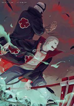 Hidan and kakuzu Naruto Kakashi, Anime Naruto, Anime Akatsuki, Naruto Cute, Naruto Funny, Naruto Shippuden Anime, Boruto, Otaku Anime, Manga Anime
