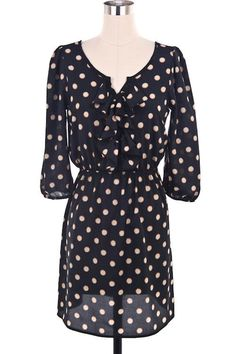 $45.00 with Free Shipping!!  This adorable Black Sun Star Print Dress is available in:  Small  Medium  Large