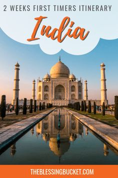 2 Weeks India Itinerary for First Time Visitors - Golden Triangle to the Beaches - The Blessing Bucket Cool Places To Visit, Great Places, Places To Travel, Travel Destinations, India Travel Guide, Asia Travel, Vietnam Travel, Beach Travel, Backpacking India