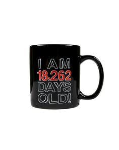 'I Am 18,262 Days Old!' Mug