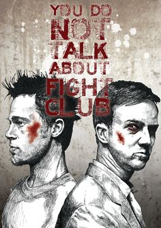 Fight Club by Glenn Pickersgill #movies #posters