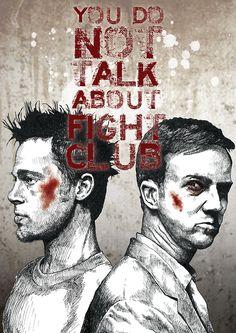 Fight Club by Glenn Pickersgill #movies #posters