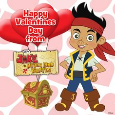 Jake wishes you a Happy Valentine's Valentines Movies, Disney Valentines, Happy Valentines Day, Winter Fun, Winter Holidays, Max And Roxanne, Happy Love Day, Disney Couples, Disney Junior