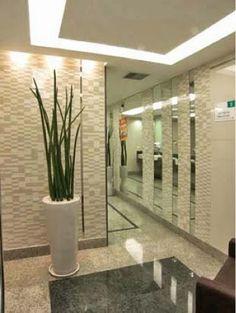 hall de elevador privativo decoração - Buscar con Google