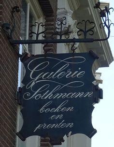 Amsterdam - Nieuwezijds Voorburgwal - Galerie Sothmann - boeken en prenten
