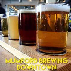 Taking in a flight @mumfordbrewing - our winner is the Hunky Dory IPA #brewery #dtla #beer