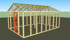 Small greenhouse plans free