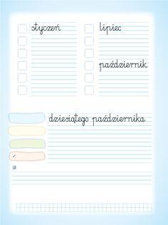 Oto ja. Klasa 2. Ćwiczenia matematyczno-przyrodnicze, część 2 Polish Language, Aga, Montessori, Education, School, Onderwijs, Learning