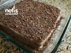 4 Malzemeli 5 Dakika Pastası – Nefis Yemek Tarifleri – Tatlı tarifleri – The Most Practical and Easy Recipes Tiramisu, Cookies, Ethnic Recipes, Desserts, Food, Gourmet, Deserts, Pies, Crack Crackers