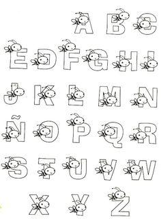 Cris Mandarini: Riscos de alfabeto