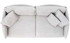 Gentry 90 Sofa by Patricia Urquiola for Moroso Sofa Layout, Furniture Layout, Furniture Plans, Patricia Urquiola, Autocad, Interior Design Sketches, Color Plan, Top View, Sofa Set