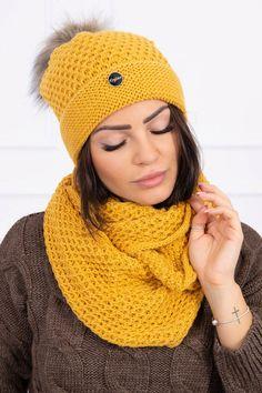 Modenrá čiapka a šál vo veľkosti uni, vhodný aj ako darček pod stromček. Uni, Outfit, Crochet, Fashion, Clothes, Moda, Crochet Crop Top, Chrochet, Fasion