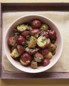 Potato Salad with Cornichons and Capers Recipe