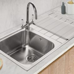 Stainless Steel Sinks available in the UK from Caple Sink Taps, Stainless Steel Sinks, Plumbing, Kitchen, Home Decor, Cooking, Homemade Home Decor, Stainless Steel Kitchen Sinks, Home Kitchens