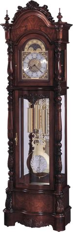 Howard Miller Veronica Traditional Design Victorian Style Grandfather Clock