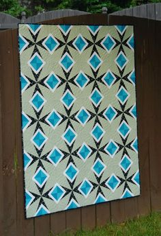 Meadow Mist Designs: Diamonds in the Sky - a quilt for Modern Quilts Unlimited Magazine