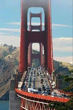 Home Discover Golden Gate Bridge San Francisco - we hired pushbikes and rode across it. Puente Golden Gate Lac Tahoe The Places Youll Go Places To Visit Magic Places San Fransisco San Francisco California Historical Sites Golden Gate Bridge Oh The Places You'll Go, Places To Travel, Places To Visit, Lac Tahoe, Puente Golden Gate, Magic Places, San Fransisco, San Francisco California, Golden Gate Bridge