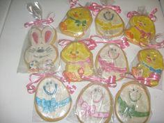 Hand Painted Easter Sugar Cookies