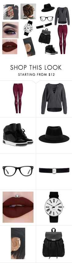"""""""Mall Day"""" by ugh-its-ray ❤ liked on Polyvore featuring Vince, MICHAEL Michael Kors, Maison Michel, Muse, Kenneth Jay Lane and Rosendahl"""