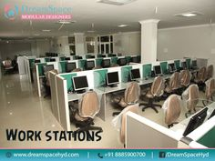 #Modular Office Furniture  Contact Us Now :http://dreamspacehyd.com/