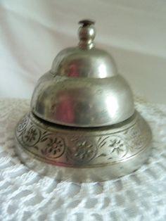 Vintage HOTEL Lobby  Bell, SCHOOL Bell,  DESK Bell