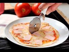 Quesapizzadilla. Deliciosa y sencilla manera de preparar una pizza con tortillas de harina.