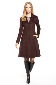 'Carmona' | Virgin Wool Skirt Bottom Coat by BOSS