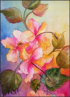 Bougainvillea, painting by artist Maryanne Jacobsen