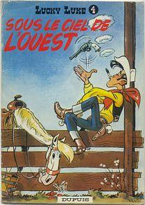 Cover of Sous le ciel de l'Ouest (1952) © Wiki Commons
