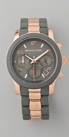 Michael Kors    Runway Time Teller Watch  Style #:MKWAT40018  $225.00. Obsessed fashion-fashion-fashion