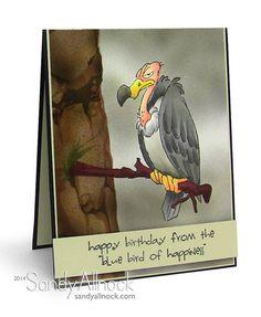 Bluebird of Happiness by Sandy Allnock