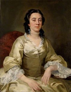 Frances Arnold portrait painted circa 1738–1740 by William Hogarth