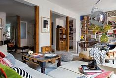 One very chic and bohemian flat