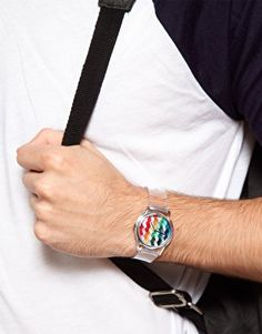 Watch with transparent wristband by MAY 28TH