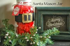 tilestwra.gr : 35 Χριστουγεννιάτικες κατασκευές απο άδεια γυάλινα βάζα!