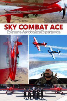 Sky Combat Ace Las Vegas Extreme Aerobatic Experience