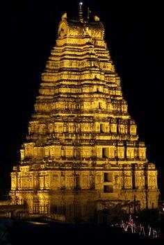 Divinely Spiritual - Virupaksha Temple, Hampi, Karnataka, India