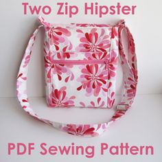 Two Zip Hipster PDF Pattern- $10 instant download. I want to try one.