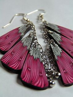 Unusual presentation of butterfly wings by ShellBeach on Etsy.